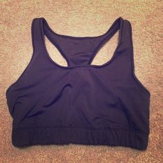 Nike sports bra Light support Nike sports bra.  Worn in and Nike logo has been washed off front of it.  Elasticity still in good condition.  Wear is reflected in price. Nike Intimates & Sleepwear Bras