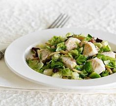 2011 WA Semifinalist: Chicken, Wine and Brussels Sprout Salad  (Mark Pyne, WA)