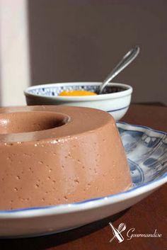 gelatina de chocolate!