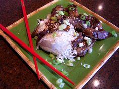 Eggplant Aubergine) With Hot Garlic Sauce Recipe - Chinese.Food.com