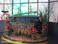 The Haunted Mansion scaled scratch-built movie prop