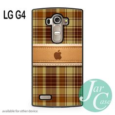 apple brown plate Phone case for LG G4 and other cases
