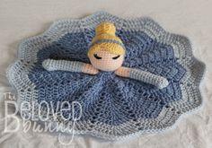 Cinderella Pretty Princess Lovey by TheBelovedBunny on Etsy