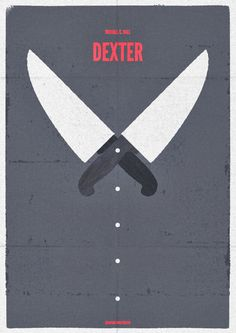 Dexter's knives  -We started watching the first season of Dexter last night- I dig!