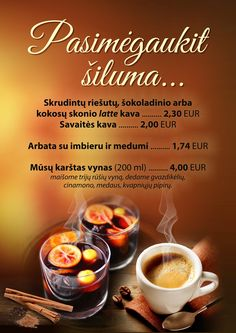 Nepakeičiama šiluma žiemos metu tik Gradiali Palanga Restorane! Užšok ir sušilk! Our Life, Beef, Food, Meat, Meal, Eten, Meals, Ox, Ground Beef