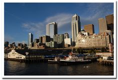 Seattle Skyline by Uncle Beefy