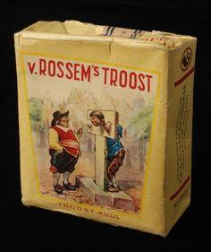 pakje tabak van Van Rossem, productnaam Troost (krul)