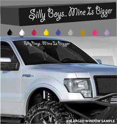 "Ridin/' Dirty lifted truck decal 40/"" windshield window car sticker 4x4 America"
