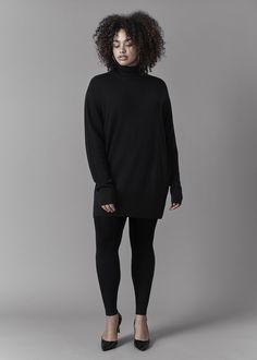 UNIVERSAL STANDARD - Sizes 10-28 - Wheaton Sweater Dress - www.universalstandard.net - Plus Size Inclusive - 1