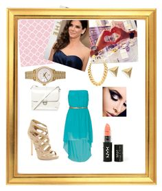"""""""Chic :3"""" by carlota-rosa ❤ liked on Polyvore featuring Sam Edelman, H! by Henry Holland, Rolex and NYX"""