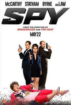 Directed by Paul Feig. With Melissa McCarthy, Rose Byrne, Jude Law, Jason Statham. A desk-bound CIA analyst volunteers to go undercover to infiltrate the world of a deadly arms dealer, and prevent diabolical global disaster. Funny Movies, Comedy Movies, Great Movies, Hd Movies, Movies Online, Movies Free, Jude Law, Film Watch, Movies To Watch