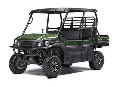 Used 2016 Kawasaki Mule Pro-FXT EPS LE ATVs For Sale in Kentucky. 2016 Kawasaki Mule Pro-FXT EPS LE, 2016 Kawasaki Mule Pro-FXT EPS LE THE KAWASAKI DIFFERENCE KAWASAKI STRONG OUR FASTEST, MOST POWERFUL SIX-PASSENGER MULE EVER The new 2015 Mule PRO-FXT has incomparable strength and endless durability backed by over a century of Kawasaki Heavy Industries, Ltd. engineering knowledge. Go and get the job done with the PRO FXT's three-passenger Trans-Cab , or easily convert it to six-passenger…