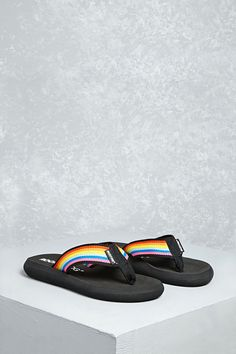 Rocket Dog Rainbow Flip Flops