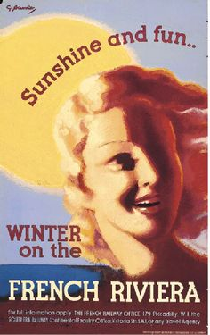 Winter on the French Riviera - Sunshine and fun - 1930's - (G. Bourdier) -