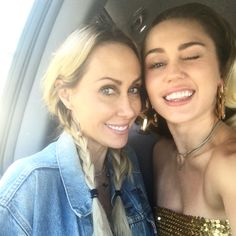"""787.1k Likes, 2,800 Comments - Miley Cyrus (@mileycyrus) on Instagram: """"I ❤️ my mama @tishcyrus !!!! She came to visit me back on set at @nbcthevoice promo day! Settin up…"""""""