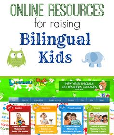 online resources for raising bilingual kids