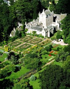 Cawdor Castle- dates from the late 14th century and was built as a private fortress by the Thanes of Cawdor.