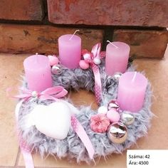 Christmas Wreaths, Christmas Decorations, Deco Table, Floral Arrangements, Gift Wrapping, Candles, Party, Handmade, Gifts