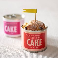 valentine's cake in a can by the food ministry © | notonthehighstreet.com