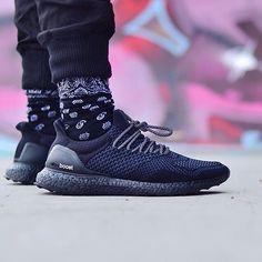 Adidas Ultra Boost Uncaged Custom Black
