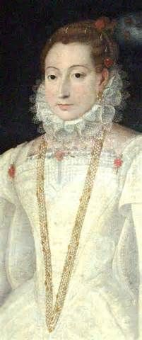 Compared to other Elizabethan portraits Maria Stuart doesn't wear ...