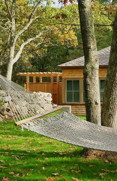 Hammock and new home on Martha's Vineyard