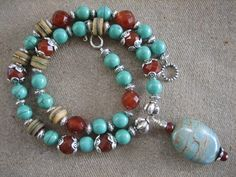 Free Shipping African beads NECKLACE Stunning by harrietlove12, $79.00