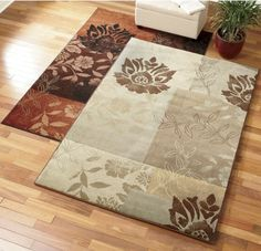 Floral Vining Rug from Through the Country Door®