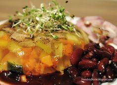 Rindfleisch-Gemüsesulz Tofu, Chili Sauce, Meat, Thai Noodles, Beef
