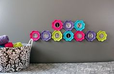 DIY Personalized Crochet Frame