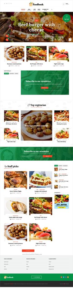 Foodbook is a wonderful 3in1 responsive #WordPress theme for #recipe community, #food #blog or restaurants website download now➩ https://themeforest.net/item/foodbook-recipe-community-blog-food-restaurant-theme/19150408?ref=Datasata