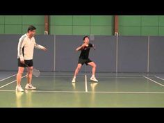Badminton-Footwork Skill (1) How to Start from the Base