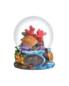 Maui Snow Globe 65mm. #SnowGlobe #Snow #Globe #Gift #gosstudio .★ We recommend Gift Shop: http://www.zazzle.com/vintagestylestudio ★