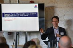 Richard Nicholls, Head of Research and Forecasting at VisitBritain at the 2017 Eden Tourism Summit
