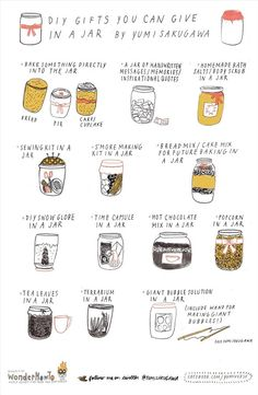 13 Easy DIY Christmas Gifts That You Can Stuff in a Jar « The Secret Yumiverse