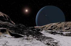 Oamanhecer nos planetas doSistema Solar - Urano