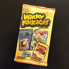 Wacky Packages wacky stickers! Fun!
