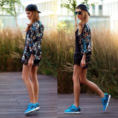 Sneakers with black mini dress Pretty Outfits, Beautiful Outfits, Jessie Ware, Sport Hair, Sporty Outfits, Happy Women, Fitness Fashion, Dress To Impress, Street Style