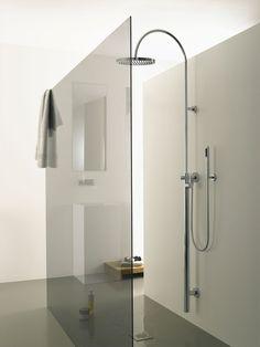 #bathroom design #interiors #modern #minimalism #shower enclosure