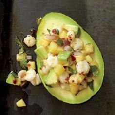 16 No-Cook Summer Side Dishes including Pineapple-Hominy Stuffed Avocados