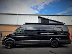 Vw Camper Conversions, Sprinter Conversion, Mercedes Sprinter Camper, Sprinter Van, Black Rhino Wheels, T6 California, Vw Crafter, Adventure Campers, Campervan Interior