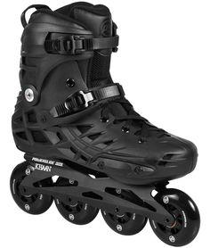 e6bdb7f5d3c580 Powerslide Khaan 80 Black Urban Inline Skate - powerslide.com Inline  Skating, Designer Boots