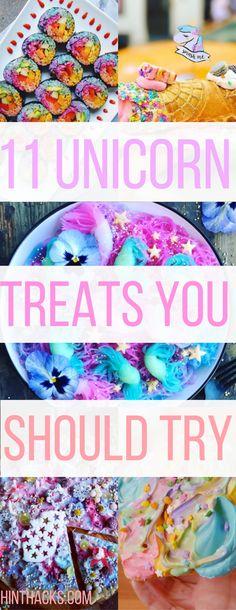 11 unicorn treats great for party  unicorn foods   unicorn drinks and snacks  rainbow food   food trends and hacks   popsugar buzzfeed hinthacks.com