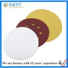 8 holes aluminum oxide Japan kovax sanding discs