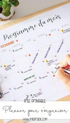 Le plus chaud Images organisation Bureau Style Planner Free, To Do Planner, Agenda Planner, Blog Planner, Planner Pages, Printable Planner, Organized Planner, Printable Art, Diy Organisation