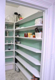 building pantry shelves design-building - Click Image to See More Reference of building pantry shelves design