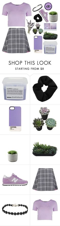 """""""Untitled #78"""" by samkitten69 ❤ liked on Polyvore featuring Davines, Topshop, Case Scenario, Lux-Art Silks, New Balance, Paul & Joe Sister and Boohoo"""