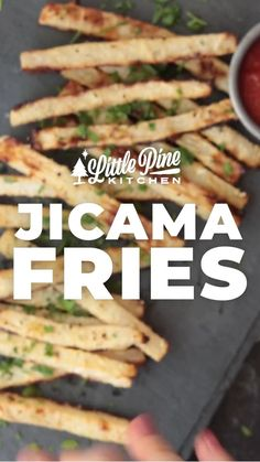 Low Carb Recipes, Cooking Recipes, Healthy Recipes, Yummy Recipes, Jicama Fries, Keto Diet Guide, Dairy Free Diet, Low Carbohydrate Diet, Low Carb Lunch