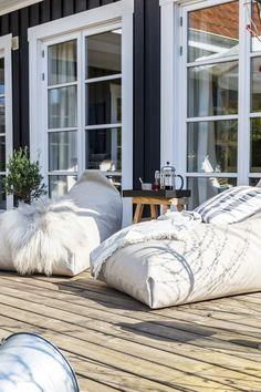 Xxl Sitzsack Mit Liegefunktion Für Den Outdoor-bereich | Garten ... Gestaltungsideen Fur Den Outdoor Bereich