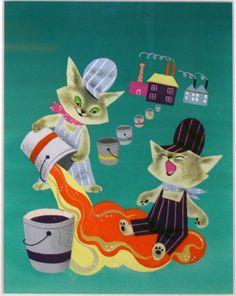 Martin Provensen, Color Kittens